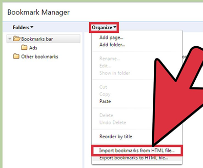 Chrome: Exporting & Importing Bookmarks – Browning IT